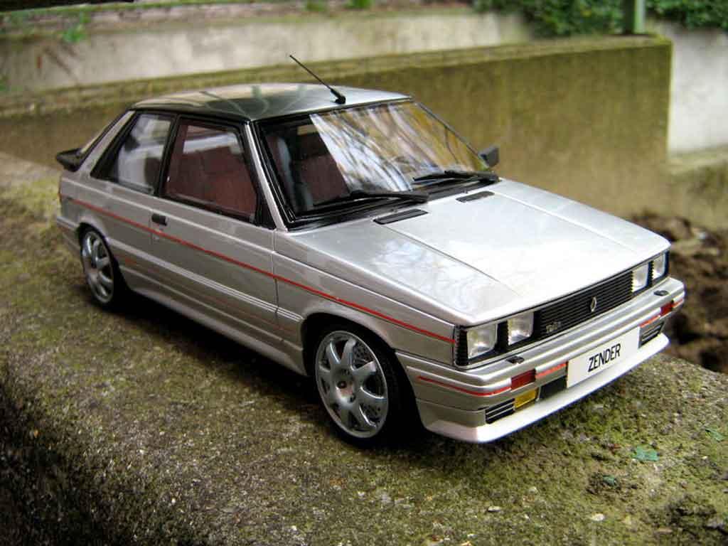 Renault 11 Turbo 1/18 Ottomobile Turbo zender 1985 jantes speedline miniature