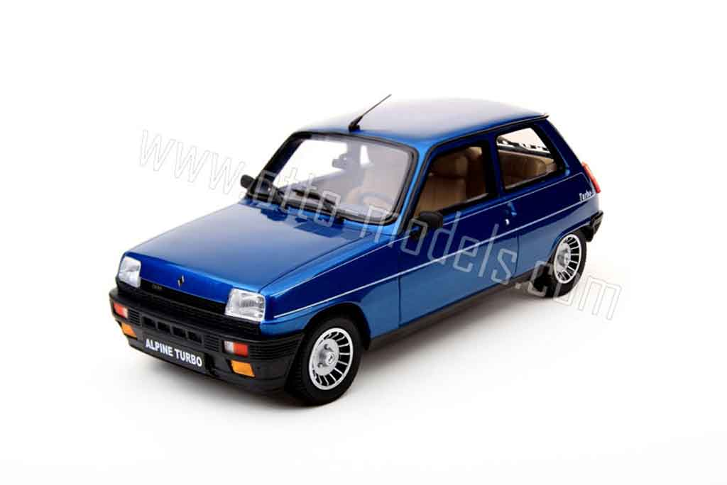 Renault 5 Alpine 1/18 Ottomobile turbo 1983 miniature