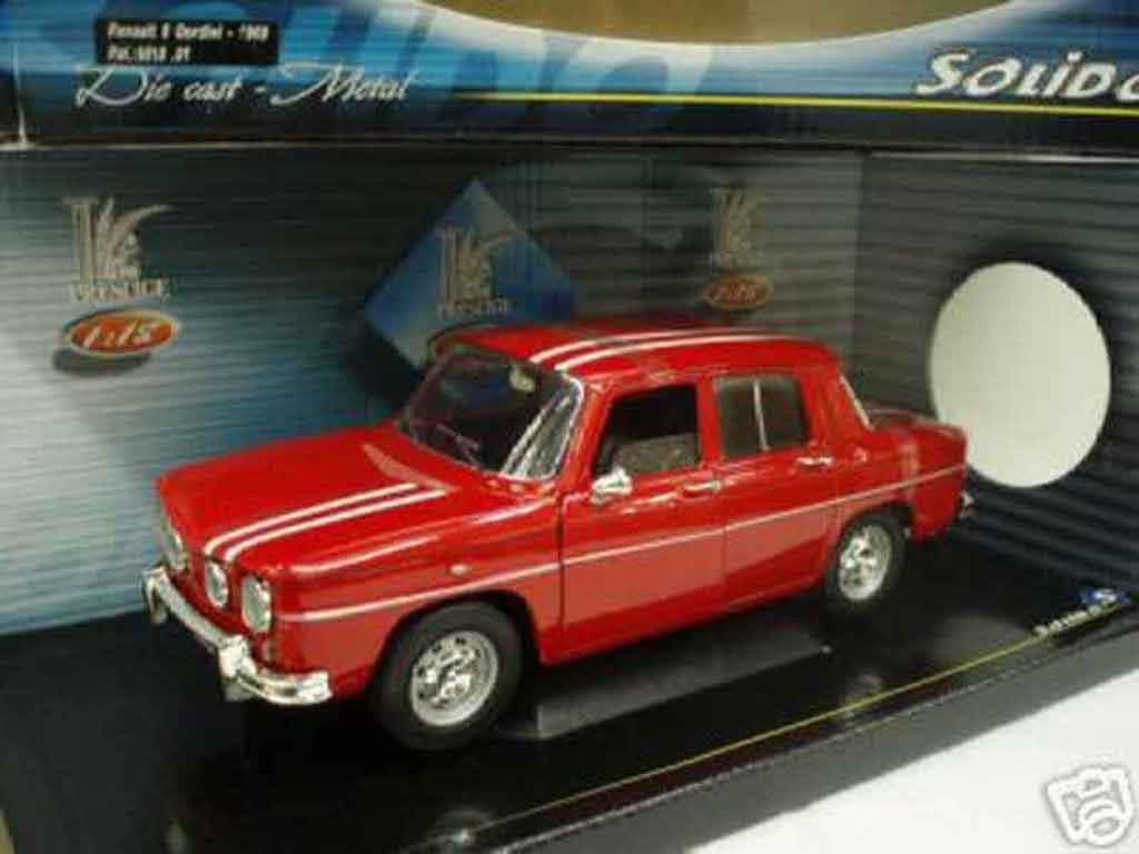 Renault 8 Gordini 1/18 Solido  miniature
