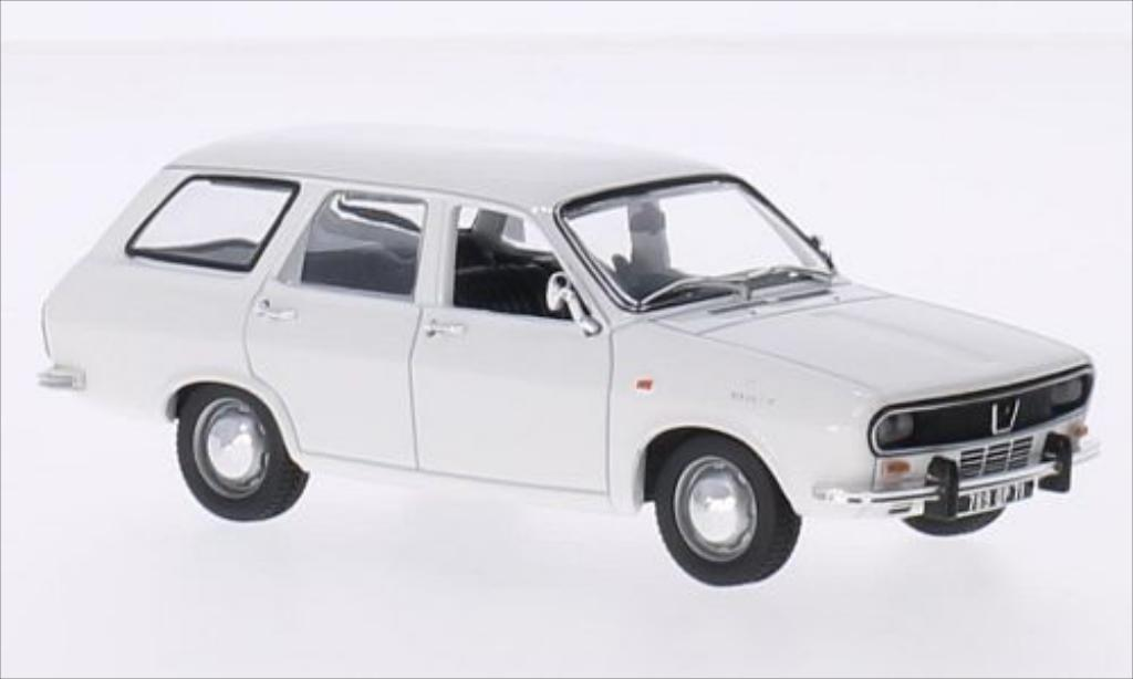 Renault 12 Break 1/43 Norev blanche 1972 miniature