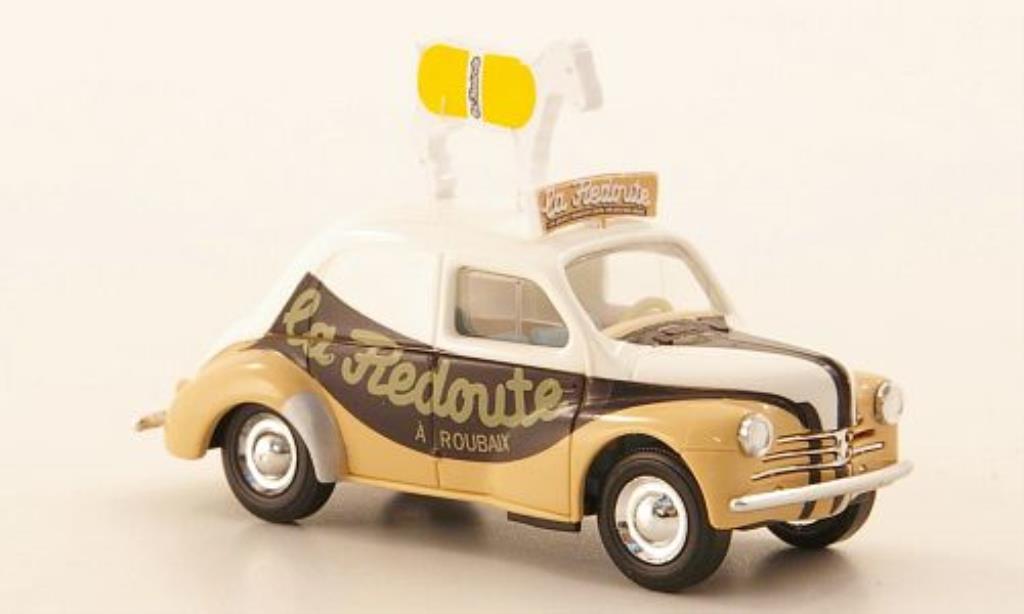 Renault 4CV 1/87 Busch La Redoute 1958 miniature