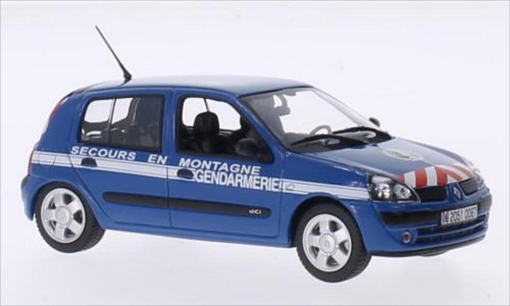Renault Clio 1/43 Norev Gendarmerie Secours en Montagne 2003 modellautos