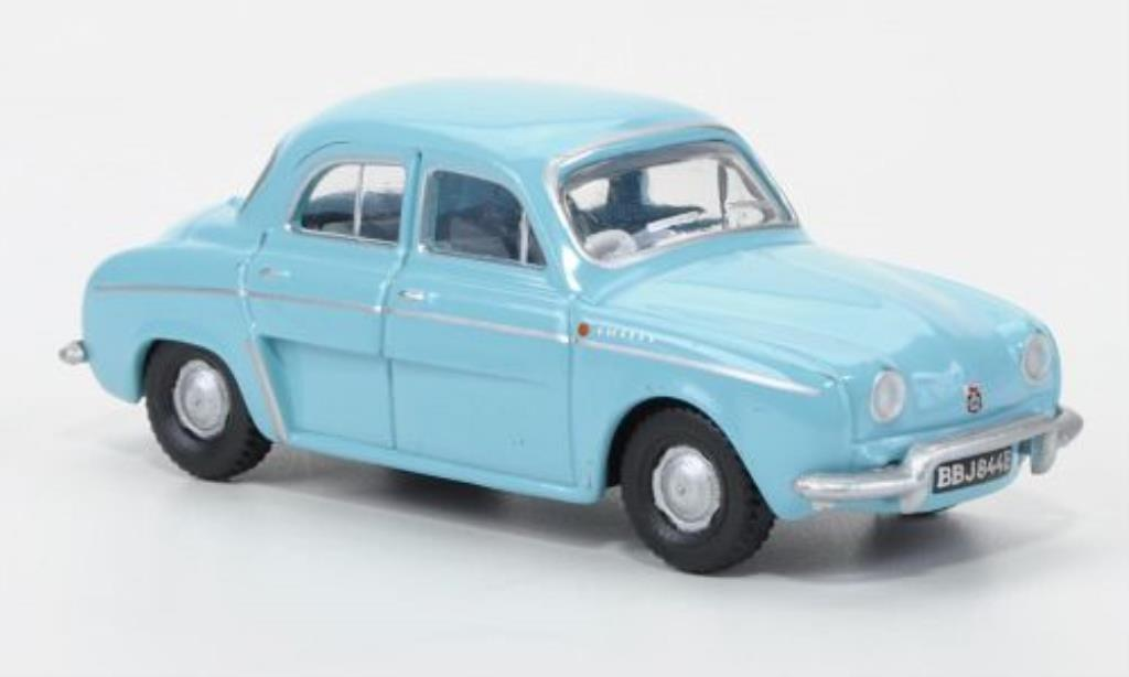 Renault Dauphine 1/76 Oxford bleu 1965 miniature