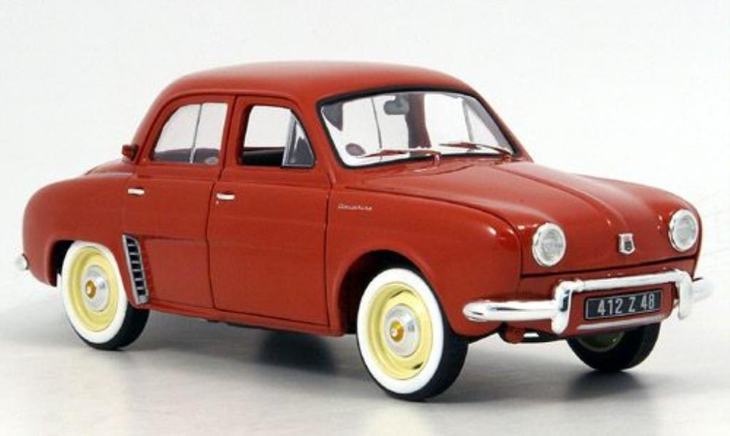 Renault Dauphine 1/18 Norev red 1958 diecast model cars