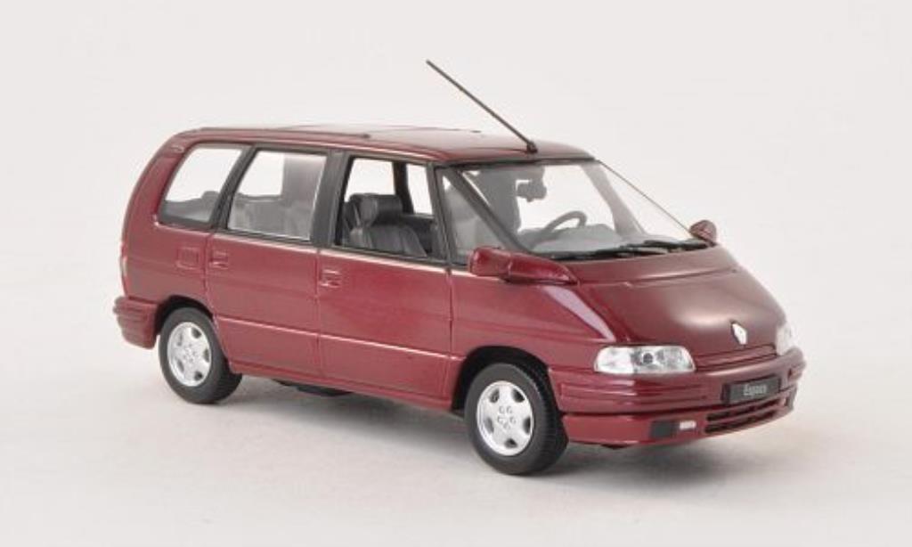 Renault Espace 1/43 Norev rouge 1992