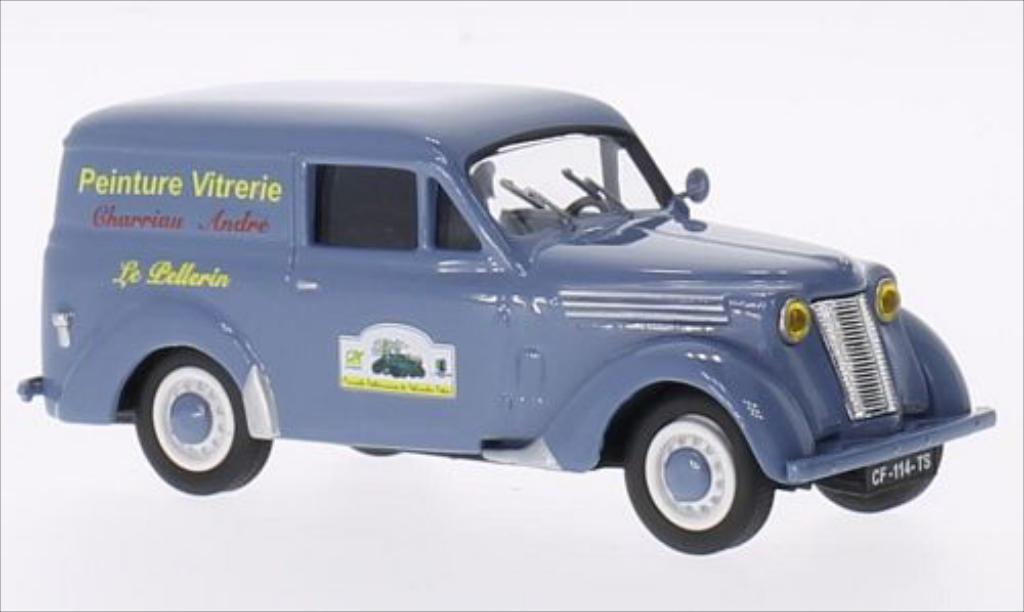 Renault Juvaquatre 1/43 Eligor Peinture Vitrerie Charriau Andre diecast