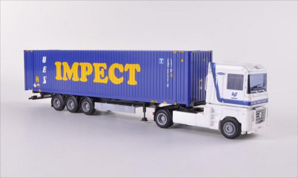 Renault Magnum 1/87 AWM JGT / Impect (NL) 45-Container-SZ miniature