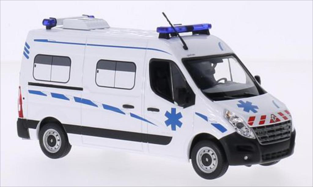 Renault Master 1/43 Norev Kasten 2011 miniature
