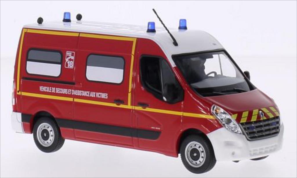 Renault Master 1/43 Norev Kasten Pompiers 2011 miniature
