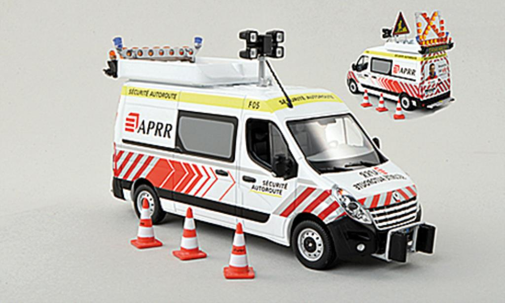Renault Master 1/43 Norev L2H2 APRR Securite Autoroute miniature