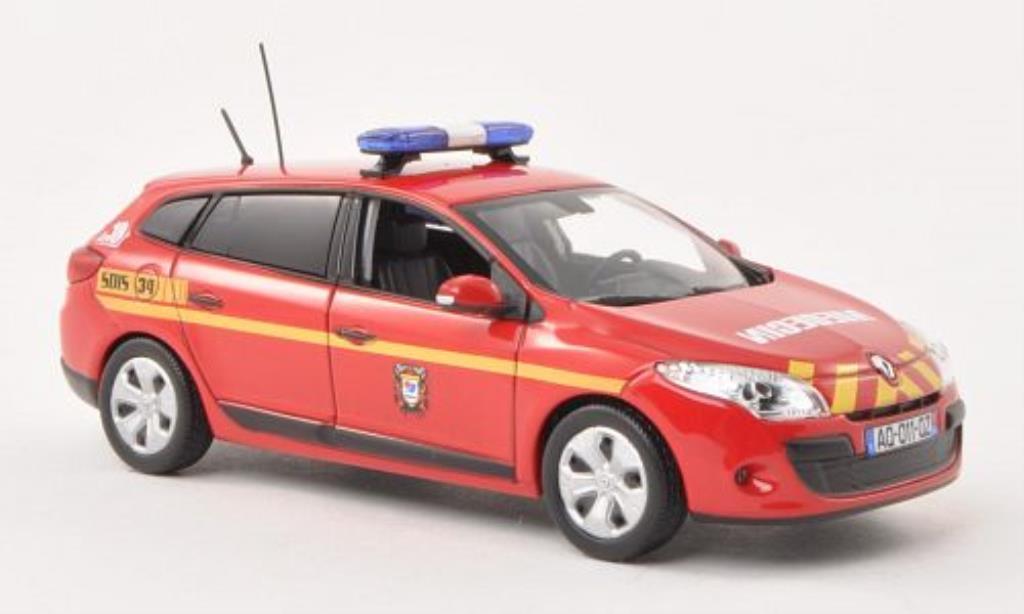 Renault Megane 1/43 Norev Grandtour Medecin Notarzt (F) 2011 miniature
