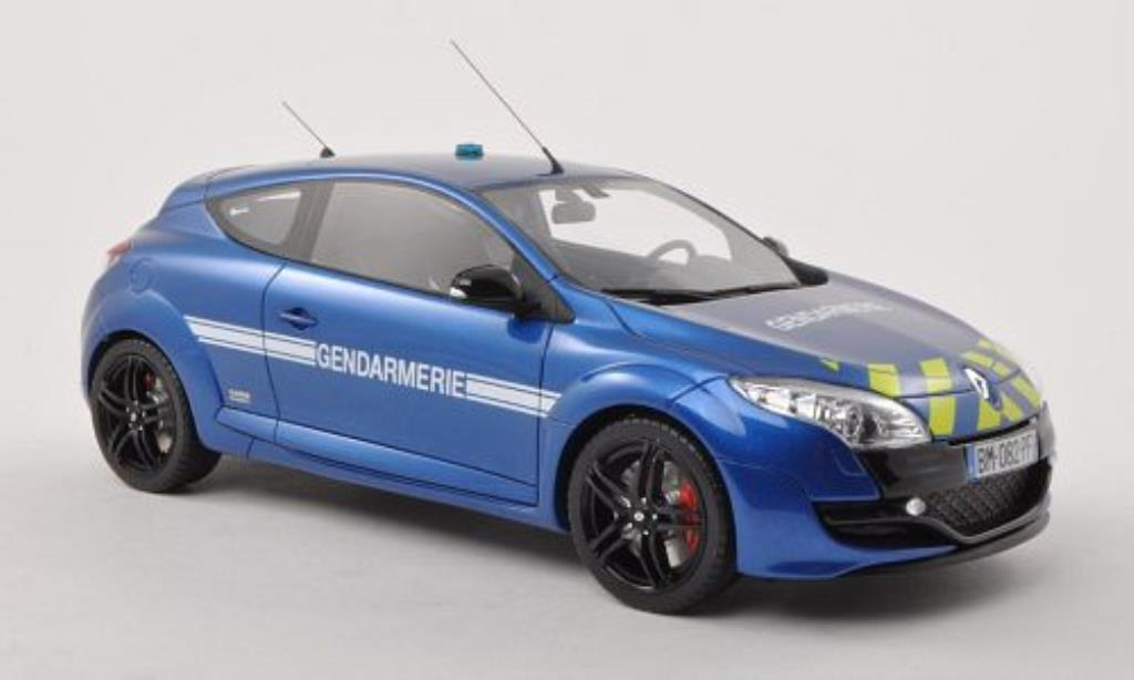 Renault Megane RS 1/18 Ottomobile B.R.I. - Gendarmerie Polizei (F) 2012 miniature