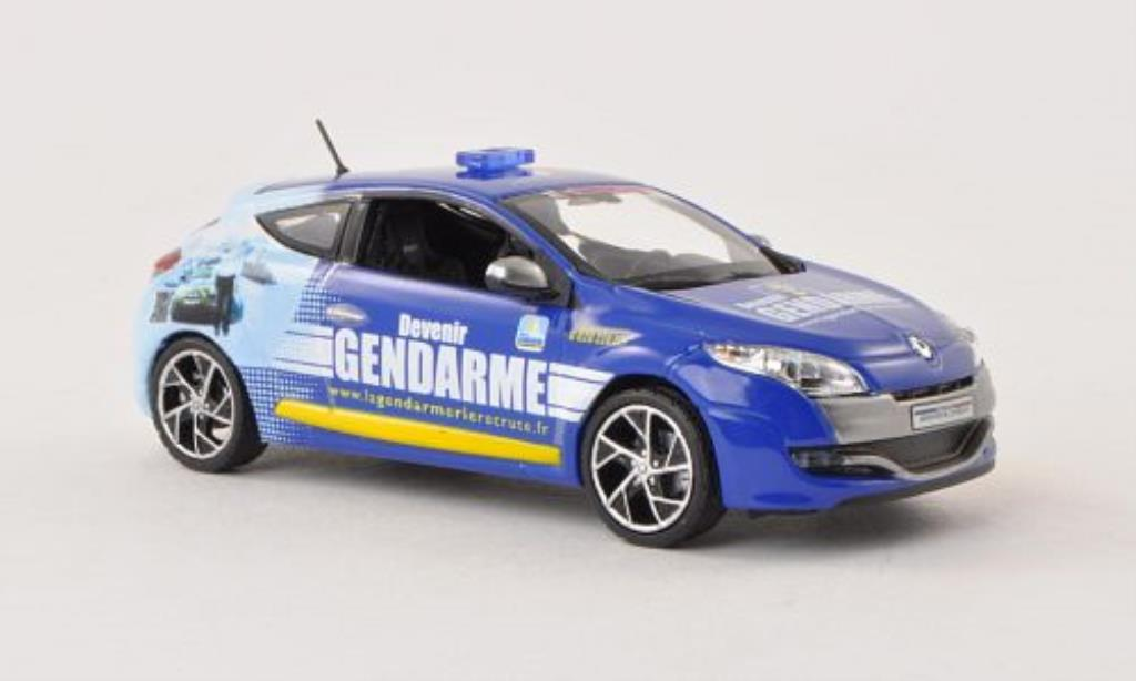 Renault Megane RS 1/43 Norev Gendarmerie Tour de France 2011 diecast model cars