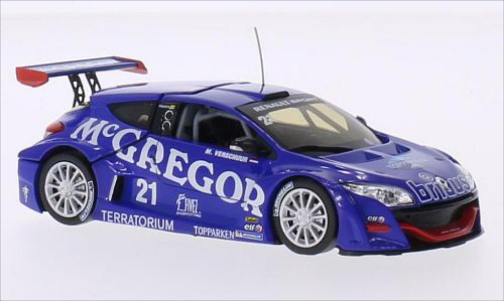 Renault Megane Trophy 1/43 Norev No.21 McGregor World Series 2009 miniature