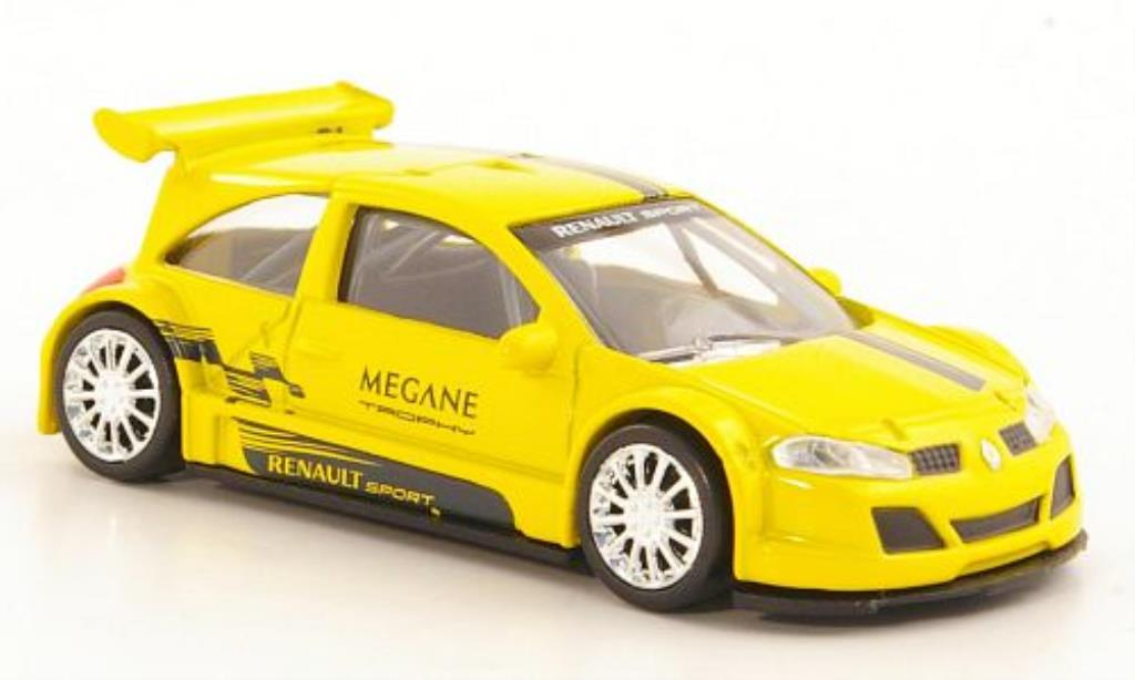 Renault Megane Trophy 1/43 Norev Sport yellow/grey diecast model cars