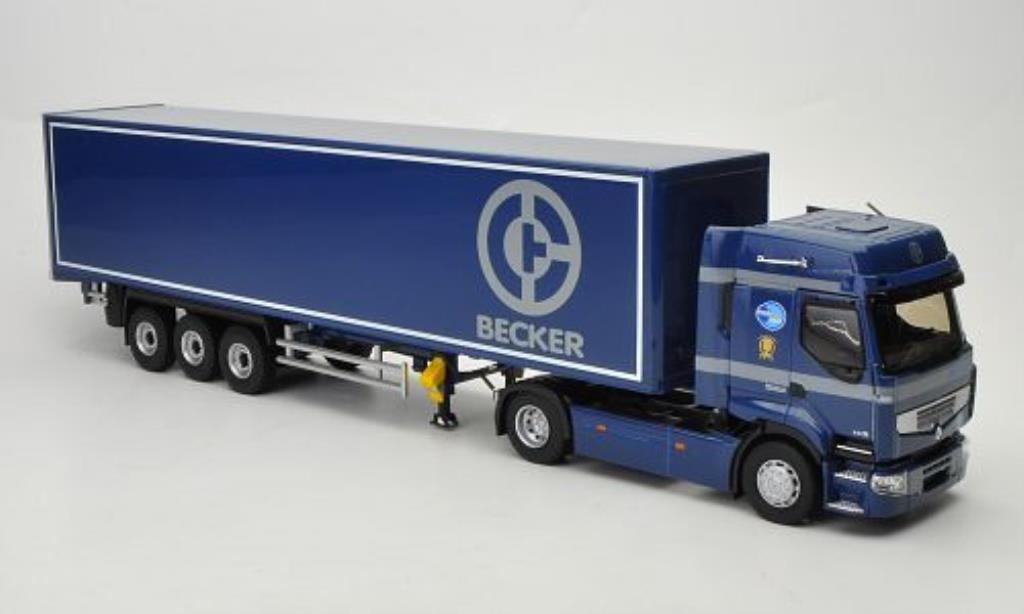 Renault Premium 1/43 Eligor DXI Becker Halbkasten-SZ diecast