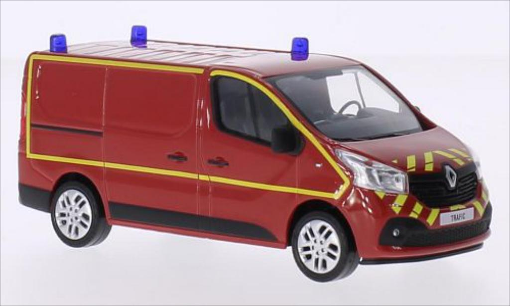 Renault Trafic 1/43 Norev Kasten Pompiers 2014 miniature