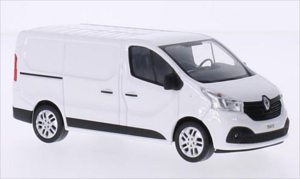 Renault Trafic 1/43 Norev Kasten white 2014 diecast model cars