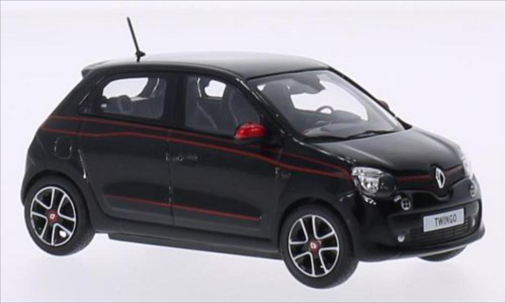 Renault Twingo 1/43 Norev SL Edition One noire/Dekor 2014 miniature