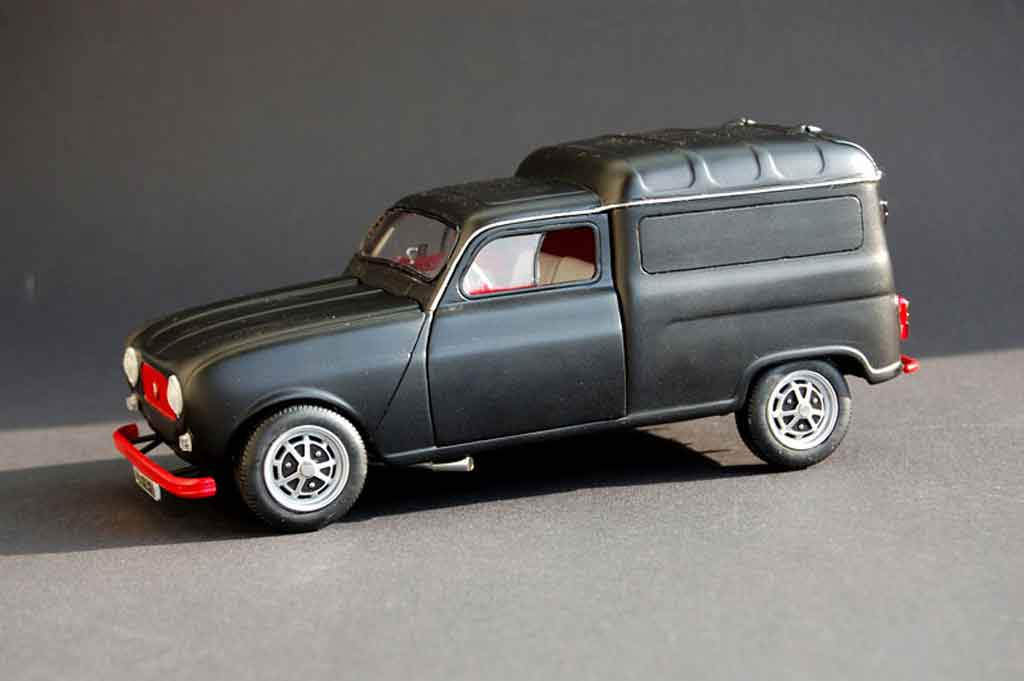 Renault 4 F4 1/18 Norev F fourgonette miniature