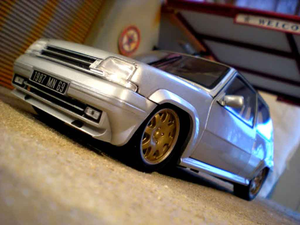Renault 5 GT Turbo 1/18 Norev by car extreme miniature