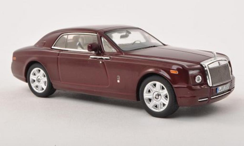 Rolls Royce Phantom 1/43 IXO Coupe rouge LHD 2008 miniature