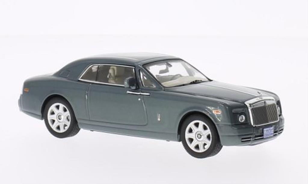 Rolls Royce Phantom 1/43 IXO Coupe grise-verte 2008 miniature