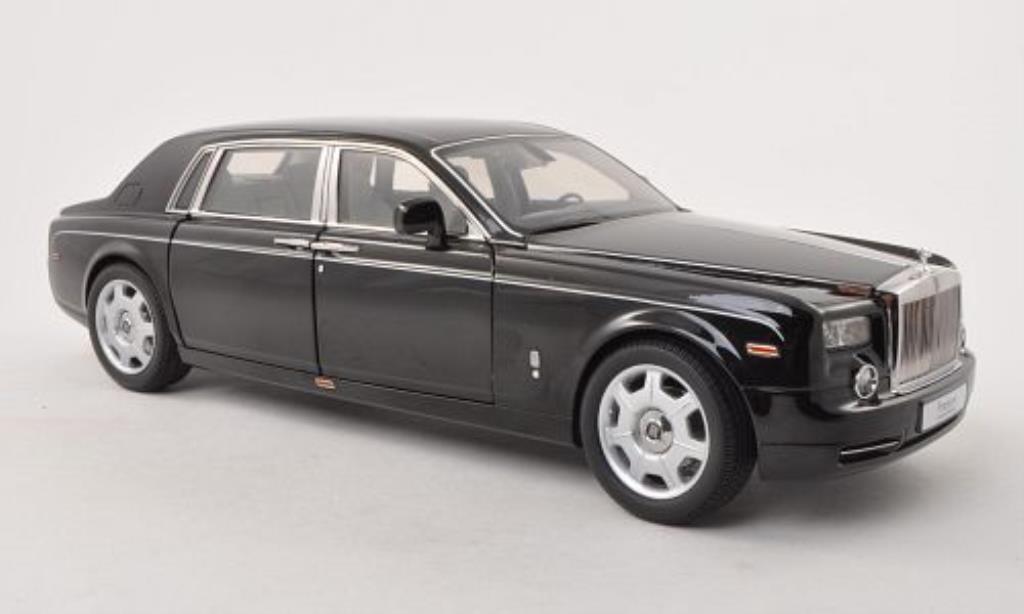 Rolls Royce Phantom 1/18 Kyosho EWB noire LHD miniature
