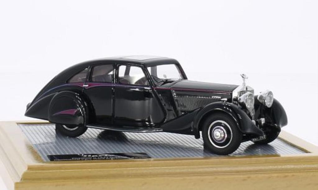 Rolls Royce Phantom 1/43 IILario II Continental Park Ward Streamline Saloon noire 1934 miniature