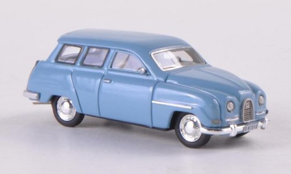 Saab 95 1/87 Neo bleugrise miniature