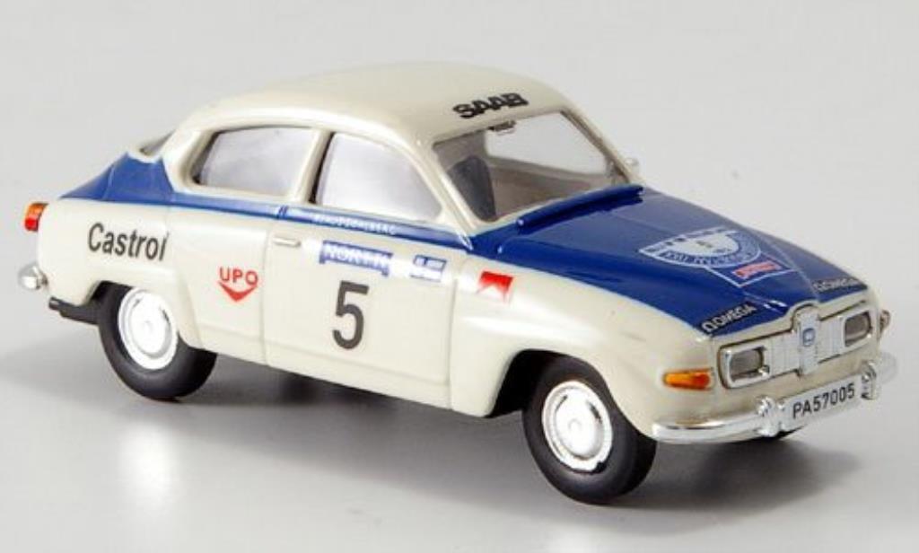 Saab 96 1/87 Brekina Limousine No.5 Rallye 1000 Lakes miniature