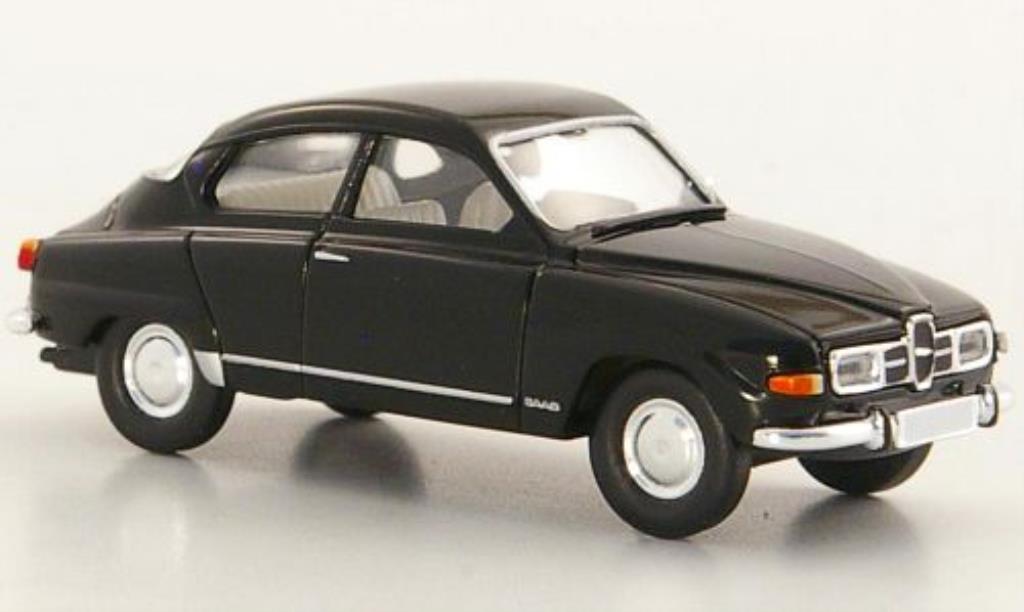 Saab 96 1/87 Brekina noire miniature