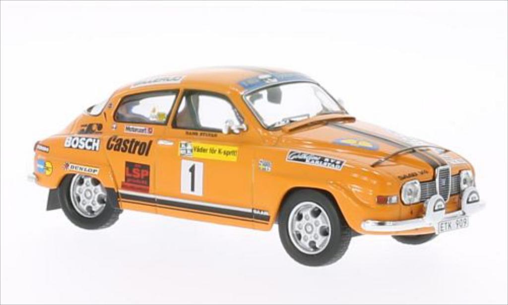 Saab 96 1/43 IXO V4 No.1 Rally Schweden 1975 /H.Sylvan diecast