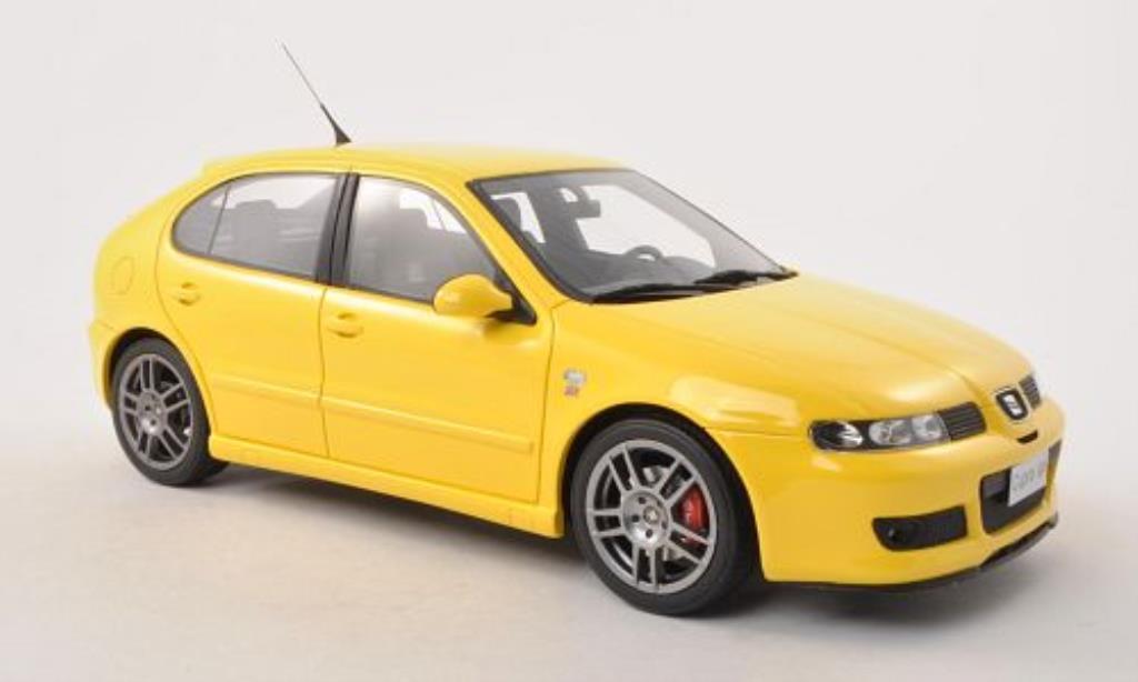 Seat Leon Cupra 1/18 Ottomobile R jaune 1999 miniature