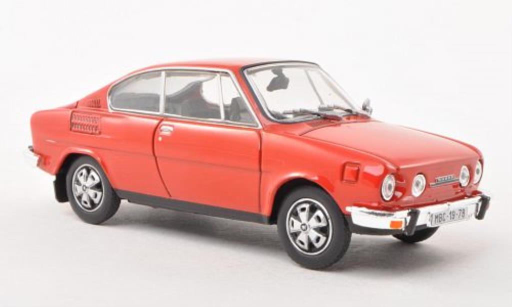 Skoda 110 1/43 Abrex R rouge miniature