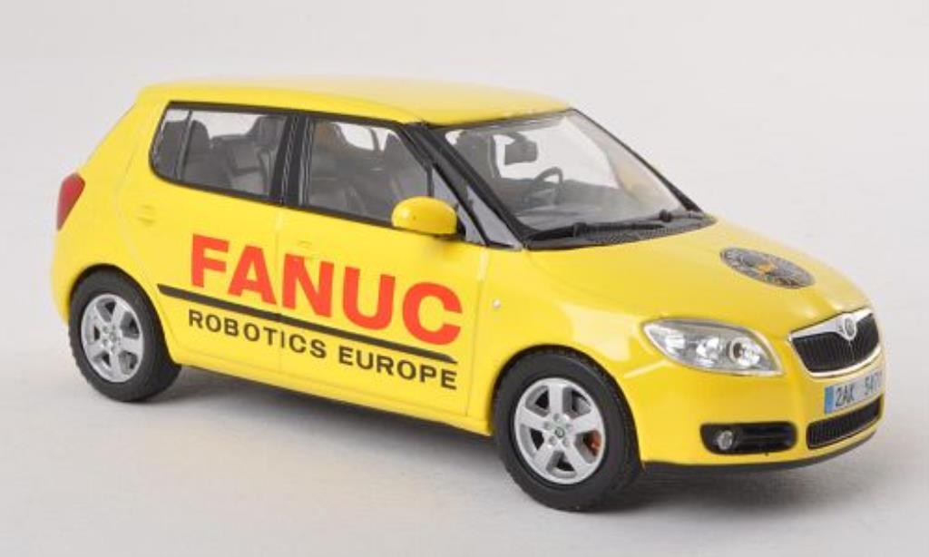 Skoda Fabia II 1/43 Abrex II Fanuc Robotics Europe 2010 miniature
