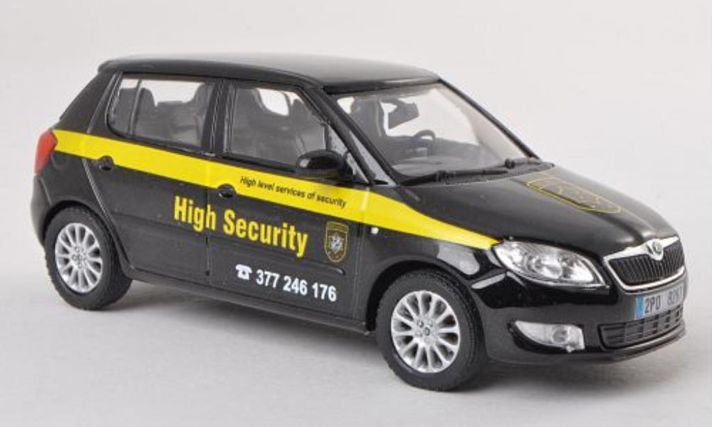 Skoda Fabia II 1/43 Abrex High Security 2010 miniature