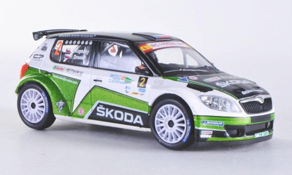 Skoda Fabia S2000 1/43 Abrex (FL 2010) No. 2011 miniature