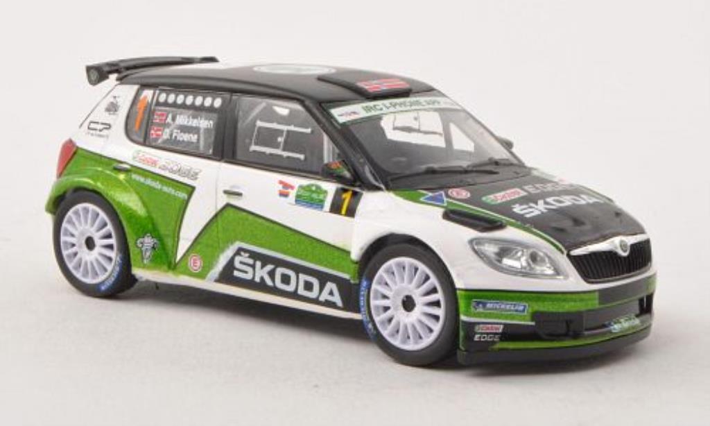 Skoda Fabia S2000 1/43 Abrex No.1 Rally Irland 2012 /O.Floene miniature