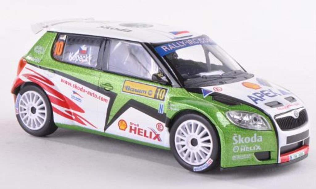 Skoda Fabia S2000 1/43 Abrex No.10 Barum Rally 2009 /Stary diecast