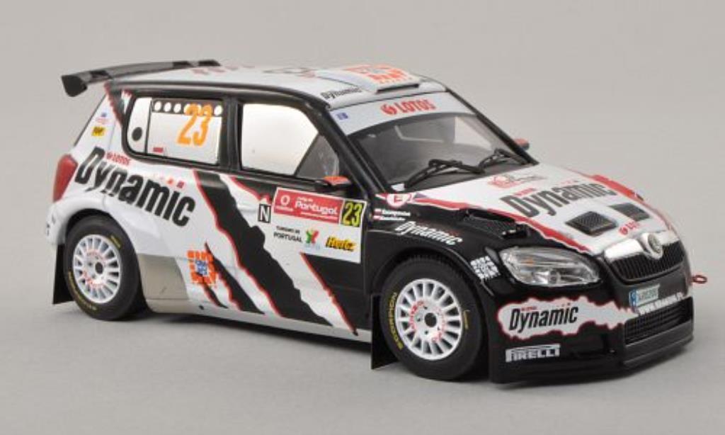 Skoda Fabia S2000 1/43 IXO No.23 S-WRC Rally Portugal 2010 /M.Szczepaniak miniature