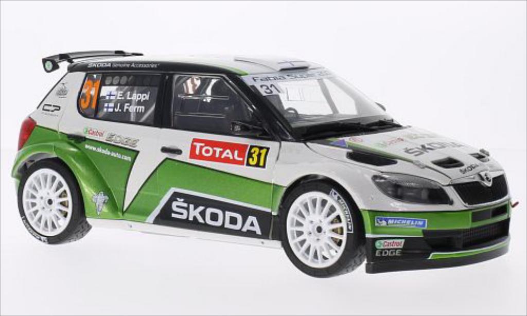 Skoda Fabia S2000 1/18 Abrex No.31 Rallye Monte-Carlo 2013 /J.Ferm miniature