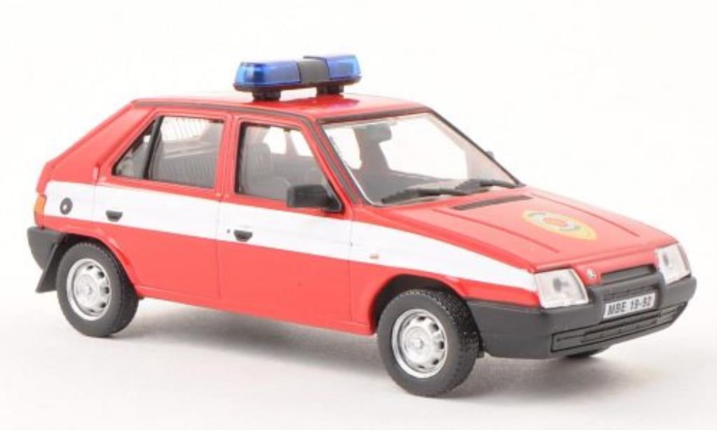 Skoda Favorit 1/43 Abrex (Tschechische Feuerwehr) 1987 miniature