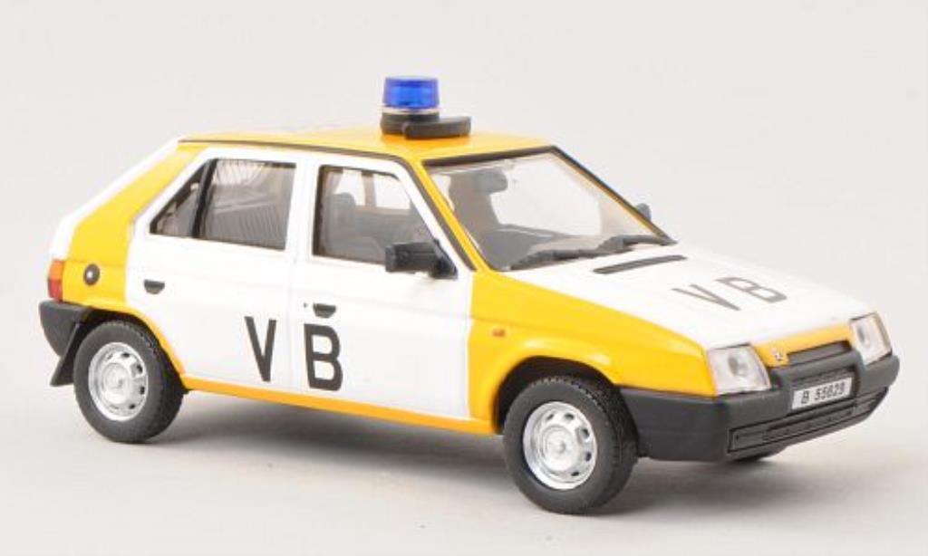 Skoda Favorit 1/43 Abrex VB (Tschechische Polizei) 1988 miniature
