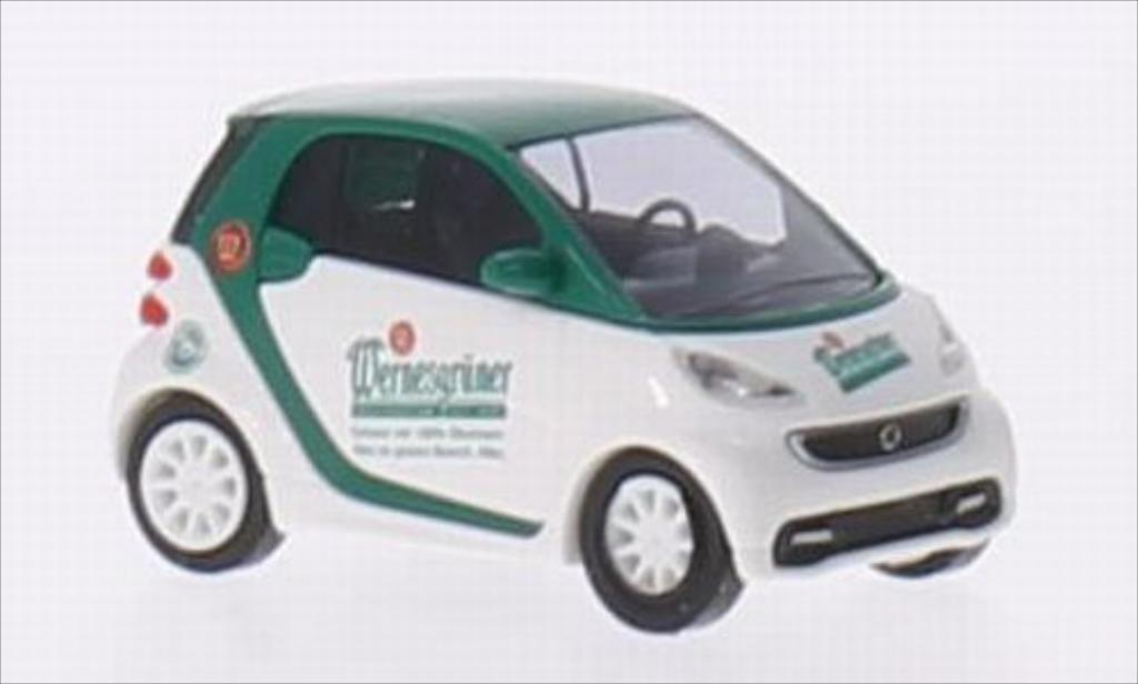Smart ForTwo coupe 1/87 Busch Fortwo coupe Wernesgruner miniature