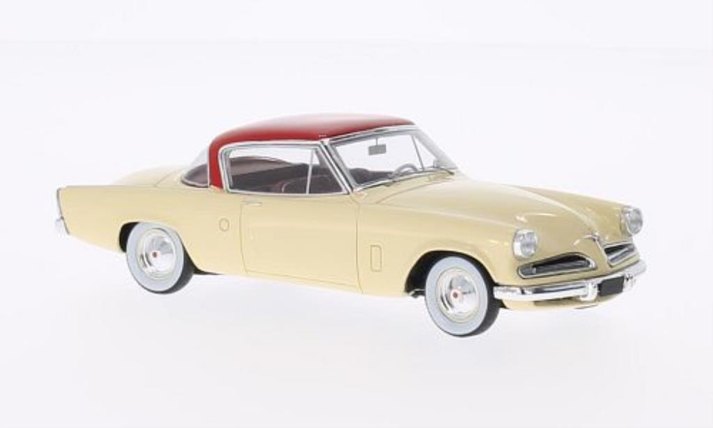Studebaker Champion 1/43 Spark beige/rouge 1953 miniature