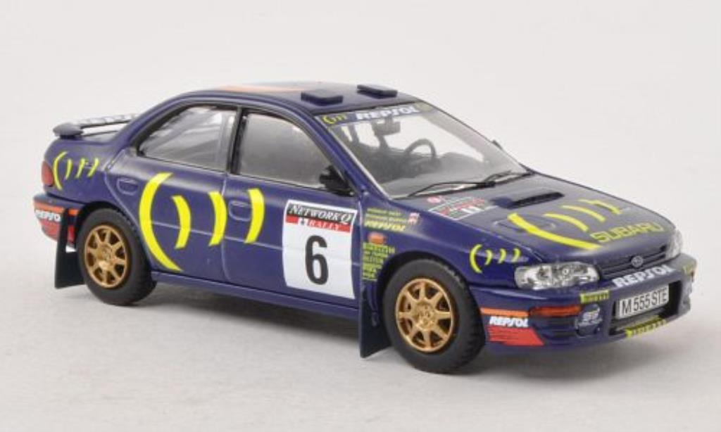 Subaru Impreza 555 1/43 Vanguards No.6 Network Q RAC Rally 1995 /R.Reid miniature