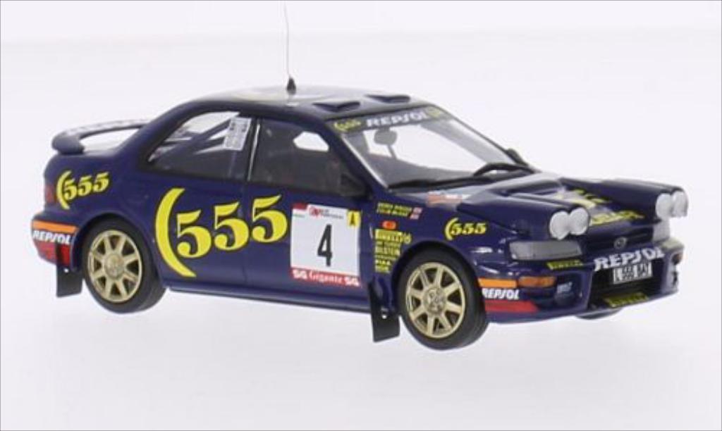 Subaru Impreza 1/43 Trofeu No.4 Rallye WM Rallye Portugal 1995 /D.Ringer