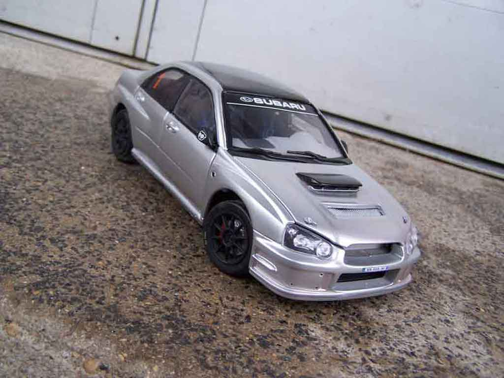 Subaru Impreza WRX 1/18 Solido street miniature