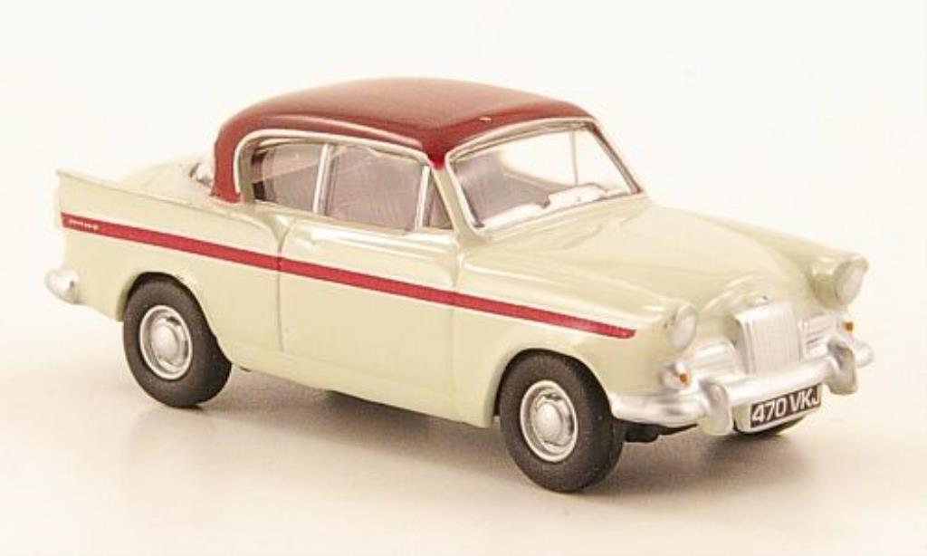 Sunbeam Rapier 1/76 Oxford MKIII grise/rouge miniature